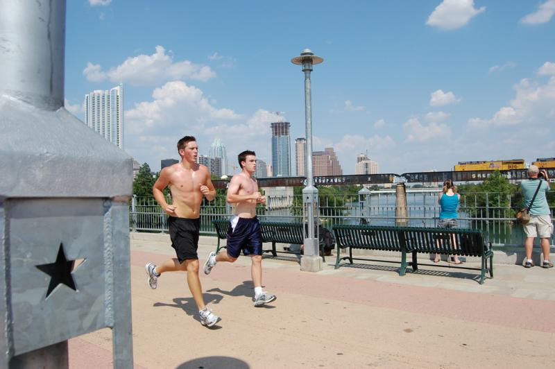 Williamson County may have ranked first in the health survey, but Travis County, with its large population of joggers, ranked sixth of all counties in Texas.