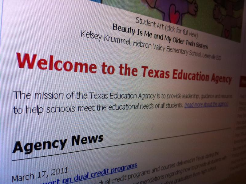HB 682 would allow state websites, like the Texas Education Agency's, to carry banner ads.