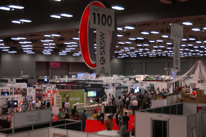 The trade show floor at SXSW is filled with companies competing for attention, but once they reel you in, are they delivering the message?