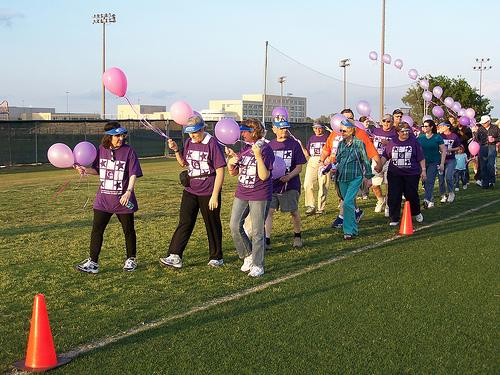 Participants in the American Cancer Society's Relay for Life