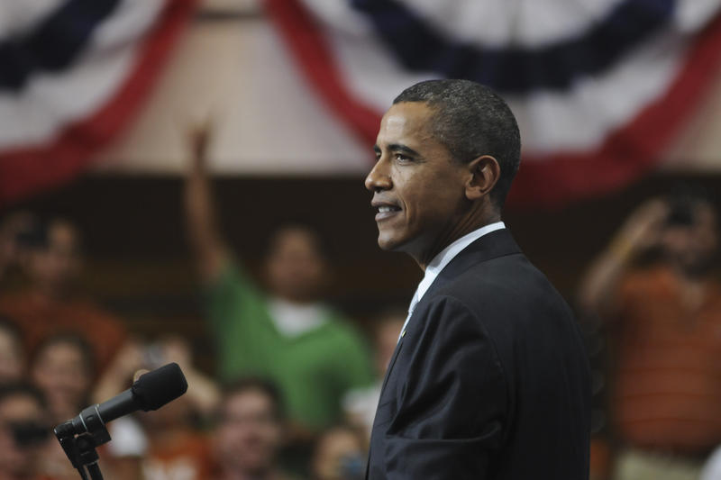 President Obama spoke at UT in August 2010.