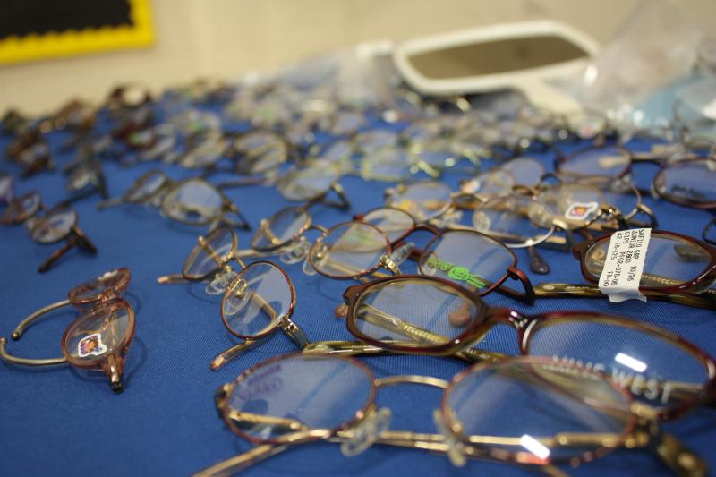 Designer eyeglasses donated to Kids Vision for Life
