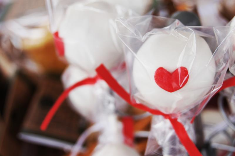 Cake Pops treats were sold at the Austin Bakes For Japan fundraiser. Five locations were set up in Austin.