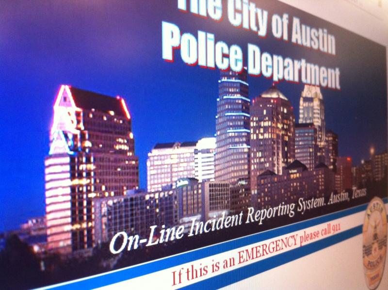 APD's new website allows you to report non-emergency crimes online.