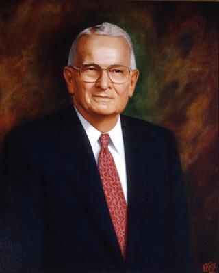 Former Texas Governor Bill Clements.