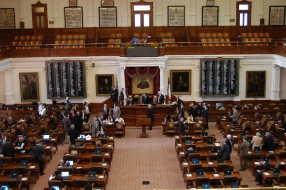 There is still come ground to cover before state lawmakers can declare their work done on a state budget. Photo of the Texas House Chamber by Nathan Bernier for KUT News.