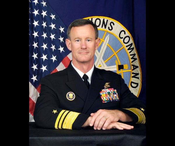 Vice Adm. William H. McRaven commanded the unit that killed Osama bin Laden. He is also a graduate of UT's journalism program.