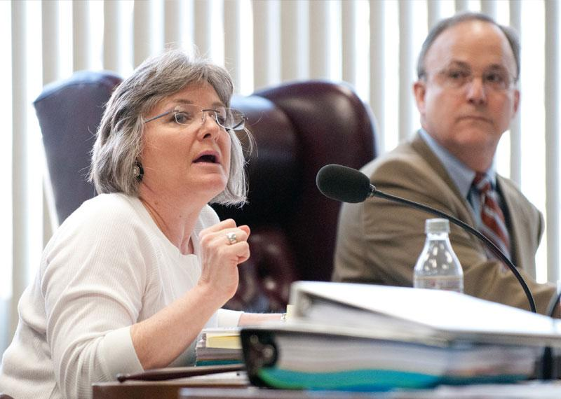 Gail Lowe's confirmation as State Board of Education chair was blocked this week by Senate Democrats.