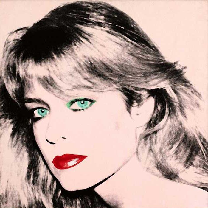 This Farrah Fawcett portrait was captured by Andy Warhol in 1979.