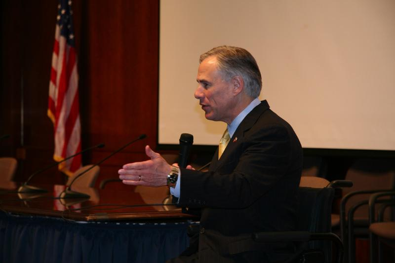 Attorney General Greg Abbott renewed his claim that EPA greenhouse gas regulations are unlawful and unconstitutional