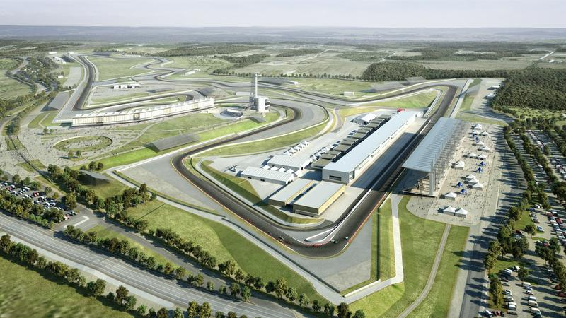 Image of proposed F1 site.