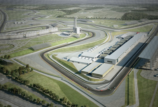 Artist's rendering of Circuit of the Americas