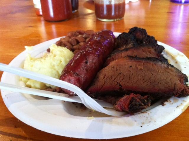 "Austin's Franklin BBQ was named ""Best BBQ Restaurant in America"" by Bon Appetit Magazine. Their beef, however, is imported from Kansas."