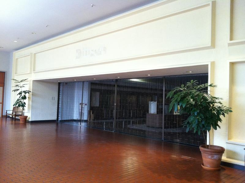 Highland Mall is filled with vacant retail space like this former Dillard's location. By August, Austin Community College could own 100 percent of the land beneath the mall.