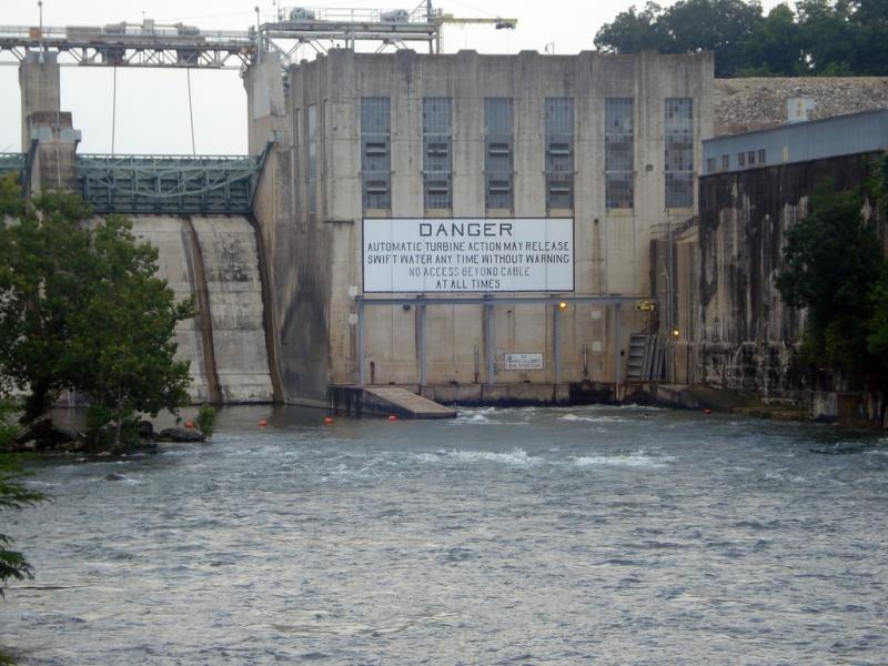 The LCRA leases the Tom Miller Dam from the City of Austin.