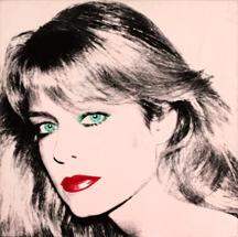 This portrait of actress Farrah Fawcett was done by artists Andy Warhol. UT and actor Ryan O'Neal are now at odds over the artwork. Image from the Blanton Museum of Art.