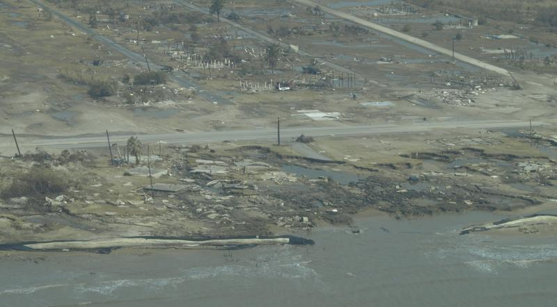The coastal city is still working to rebuild from 2008.