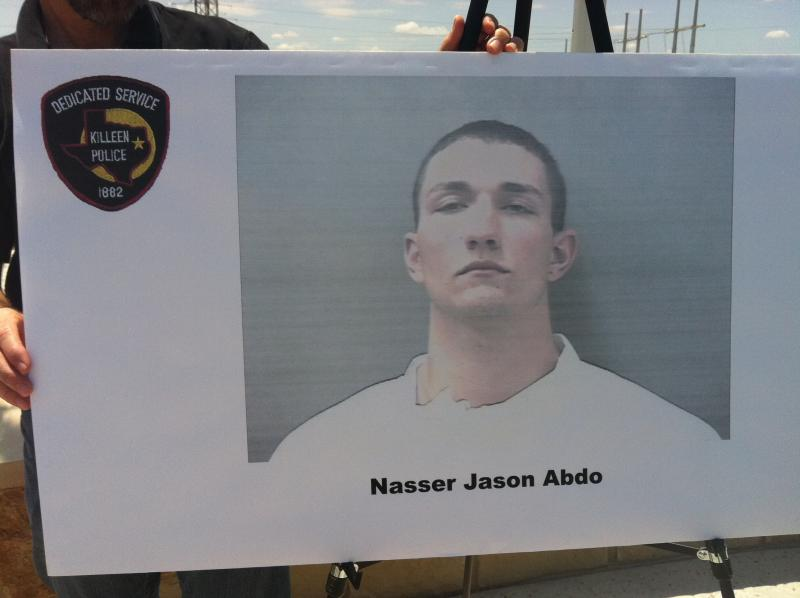 Killeen Police released this photo of Nasser Abdo, the AWOL soldier suspected in a attack plot at Fort Hood.