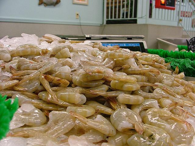 Shrimp like these are obtained through dangerous working conditions, primarily by Vietnamese fisherman, a new UT study confirms.
