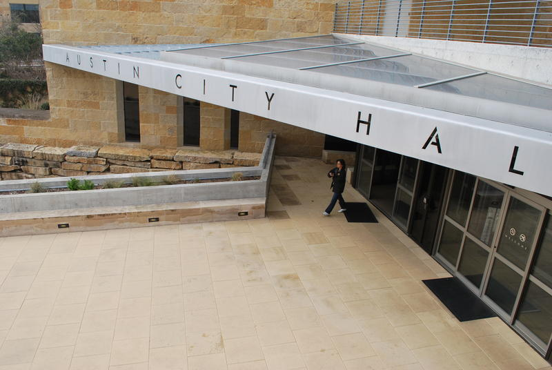 City council members discussed the proposal during a work session today at Austin City Hall.