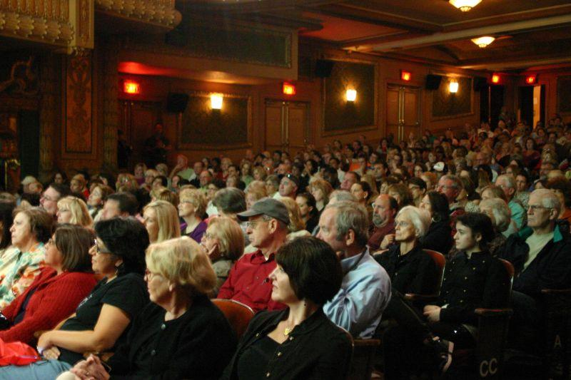 An audience at Austin's Paramount Theater in 2010.
