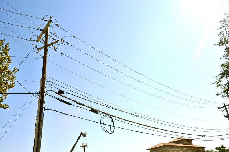 ERCOT is asking Texans to conserve electricity during today's energy emergency. Photo by Jessie Wang for KUT News.