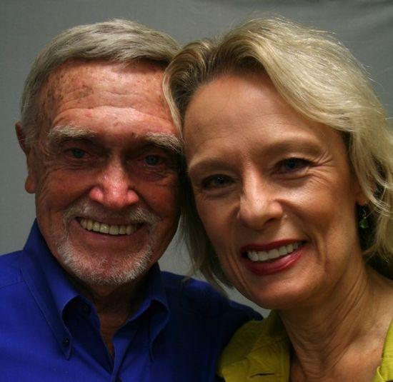 Cactus Pryor and his wife Peggy in 2009