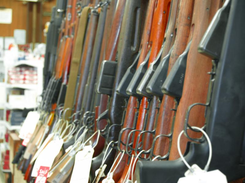 A new federal rule requires gun shops to report purchases of two or more of some semiautomatic rifles within five days.