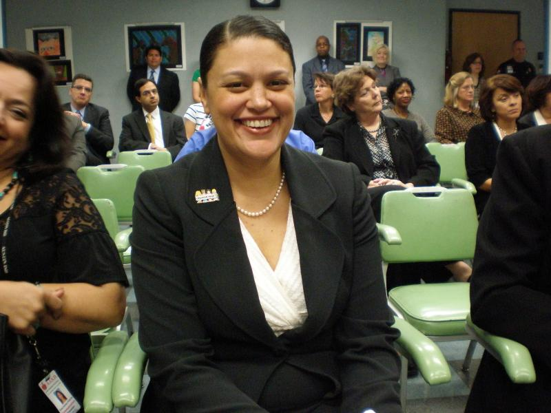 Meria Carstarphen in a file photo from 2009, shortly before she was hired by the Austin ISD school board.