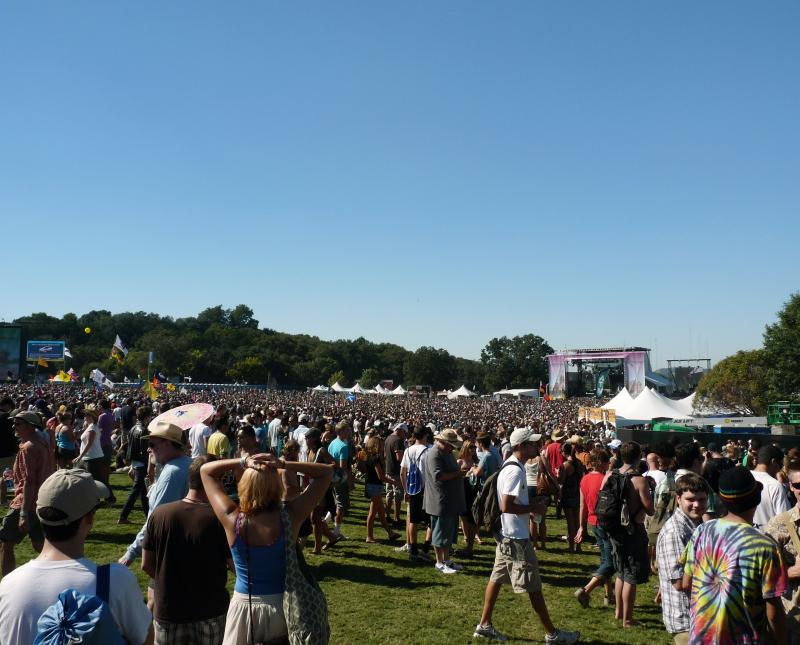 Watch out for cigarettes in those crowds. City officials are banning smoking during ACL fest this year.