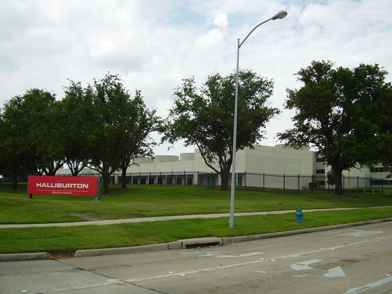 Halliburton's offices in Houston