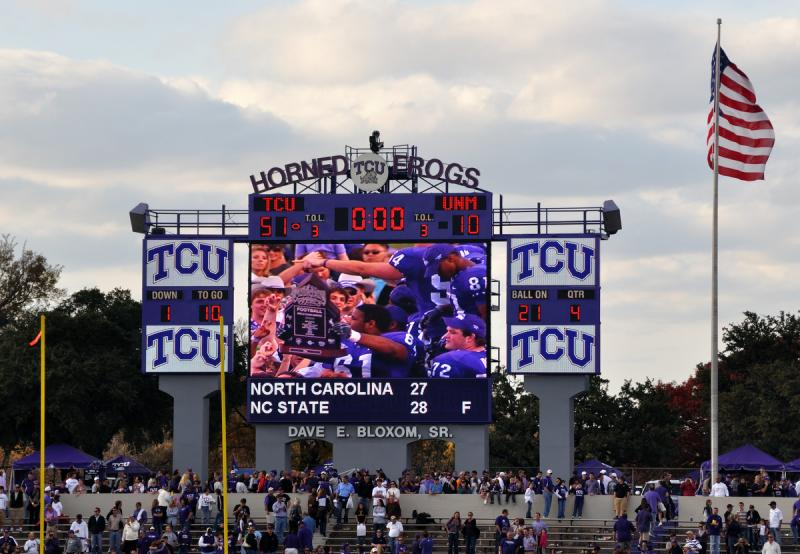 Texas Christian University has been invited to join the Big 12 Conference.