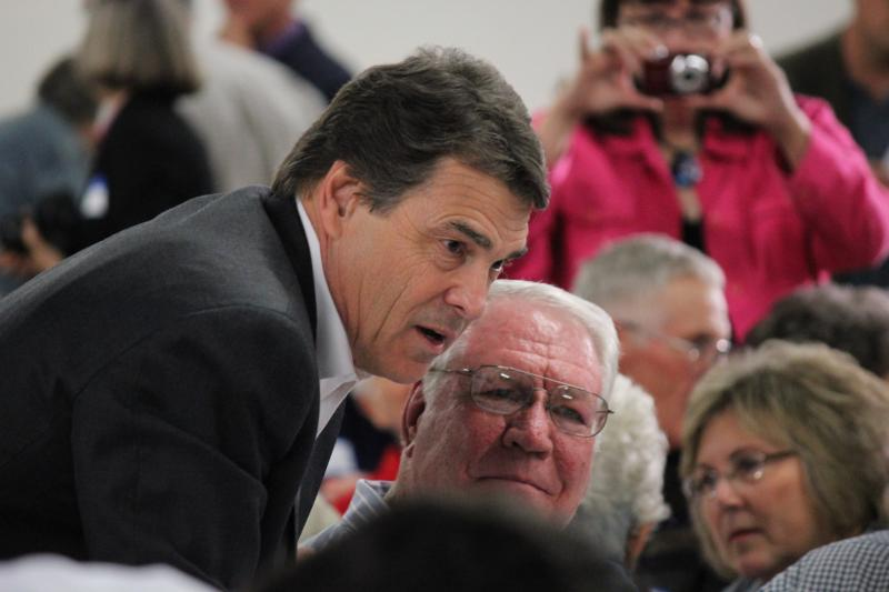 RIck Perry could pick up an important endorsement this week.