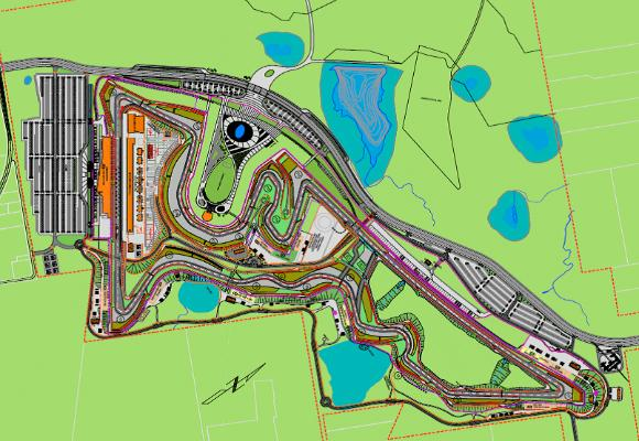 The Circuit of the Americas race course under construction in Southeast Travis County may not see a F1 race until at least 2013, according to the race organization's president.
