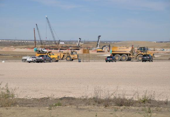 Construction is set to resume immediately for the Circuit of the Americas track southeast of Austin. Local organizers have reached a deal with Formula One management for the 2012 race.