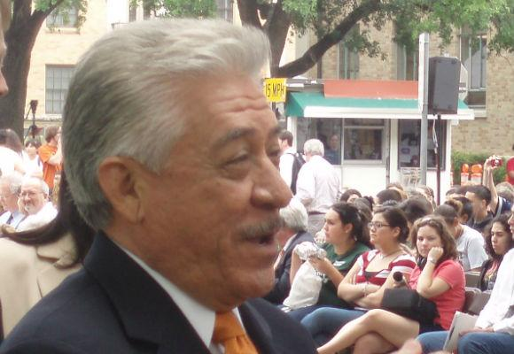 Former Texas Sen. Gonzalo Barrientos, chair of the 2012 Charter Revision Committee