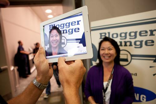 A picture snapped on an iPad at the 2011 SXSW Interactive festival.