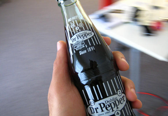 At ten and two and four no more: Sugar-sweetened Dr Pepper will no longer be bottled in Dublin, Texas.