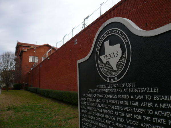 Texas' Huntsville Prison, home to the United State's most active execution chamber.