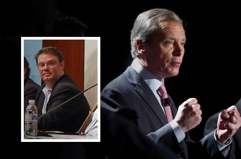 Rob Johnson (left) will be managing a super PAC fund for Senate candidate David Dewhurst.