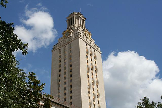 Today marks the diamond anniversary of the UT tower.