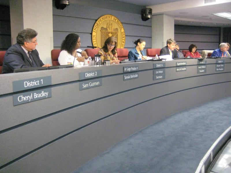 The AISD School Board of Trustees will discuss possible changes to its consultation contract tonight.