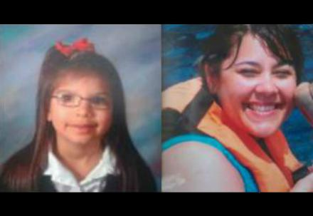 Authorities have issued an Amber Alert for 11-year-old Jessica Smith (left). They believe she is with her mother, Kimberly Smith.