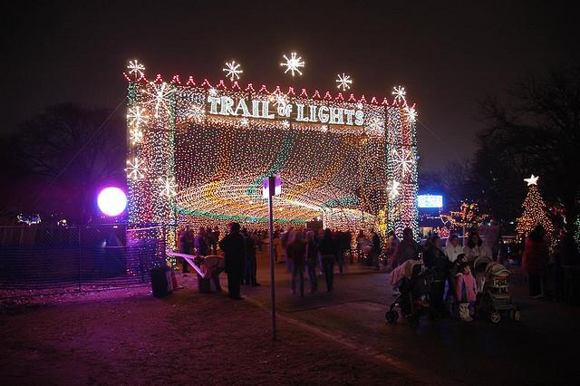 The entrance to the Trail of Lights, photographed in 2006.