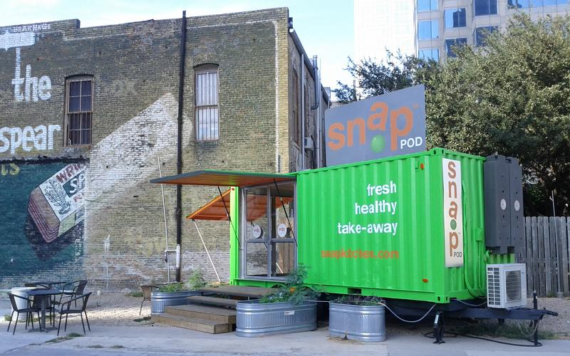 Snap Kitchen is one of several food vendors that will have to leave this lot on June 10.