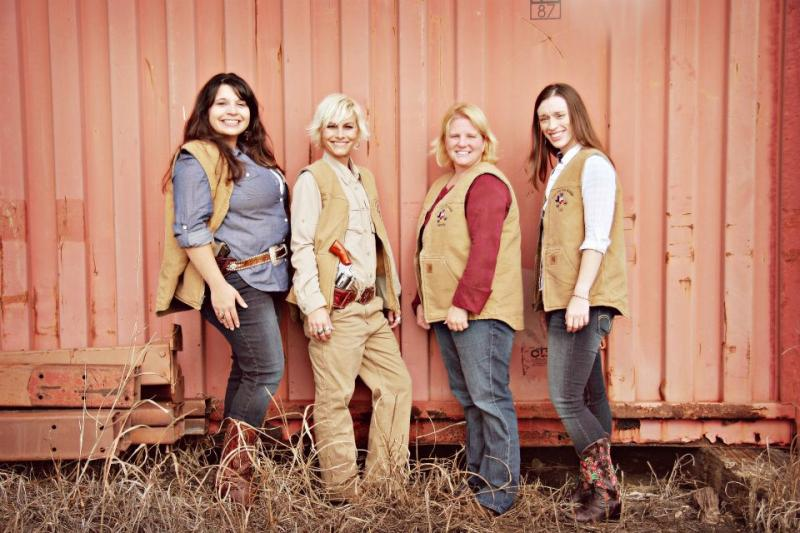 The ladies of Lone Star Gun Range say shooting isn't just for the guys.