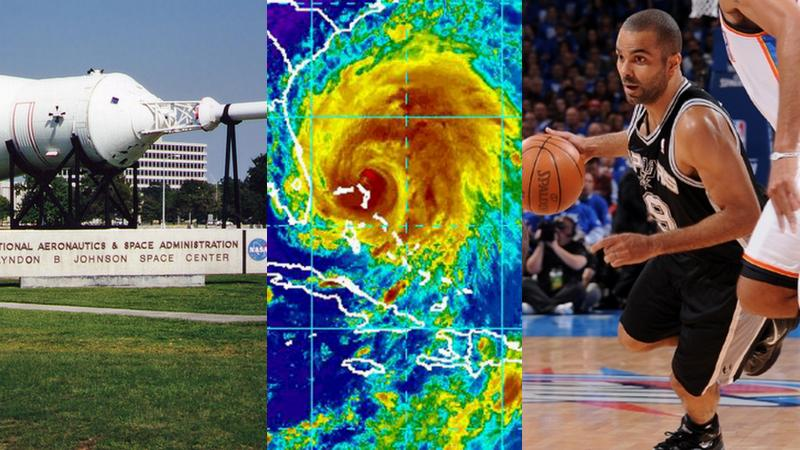 The Johnson Space Center is set to receive a replica shuttle; The 2012 Atlantic Hurricane Season may or may not bring a storm like Irene; Tony Parker scored 16 points for The Spurs in last night's defeat.
