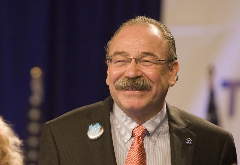 June 9th, 2012: Newly elected Chair of the Texas Democratic Party Gilberto Hinojosa.