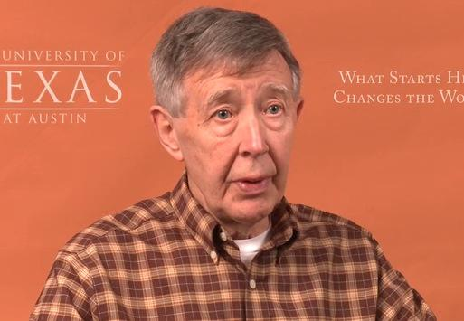"Charles ""Chip"" Groat discussing his study, ""Separating Fact From Fiction in Shale Gas Development,"" in a video from February."