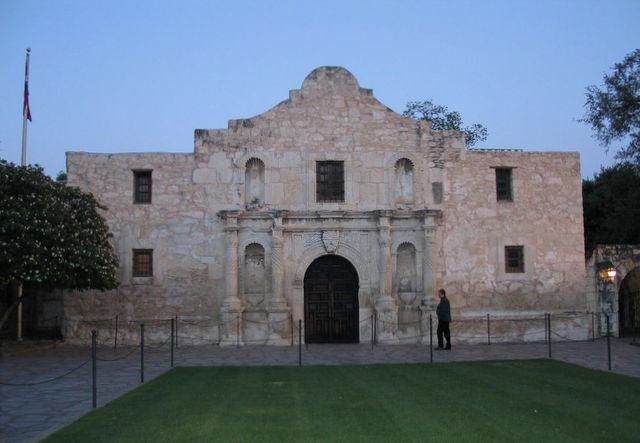 The Daughters of the Republic of Texas dispute plans to allow alcohol at a site on the Alamo grounds.